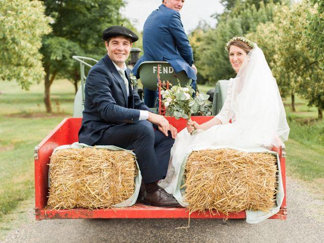 Le mariage de Victor et Florence à La Romieu, Gers 56