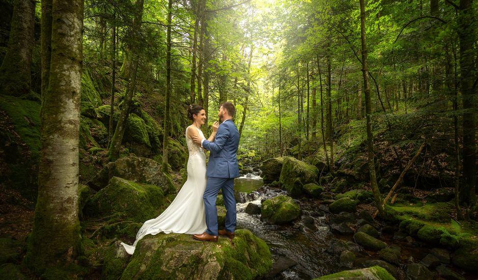 Le mariage de Gabriel et Jeanne à Remiremont, Vosges