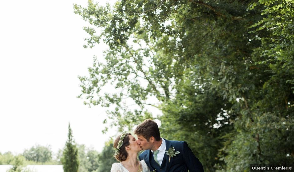 Le mariage de Victor et Florence à La Romieu, Gers