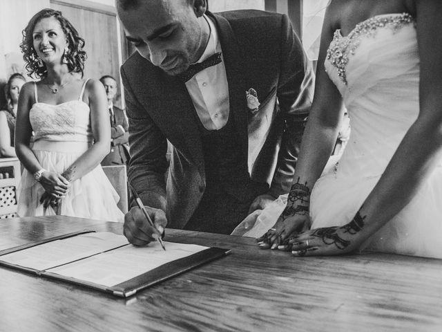 Le mariage de Oualid et Caroline à Oyonnax, Ain 25