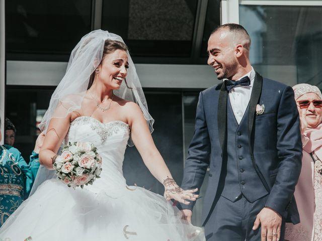 Le mariage de Oualid et Caroline à Oyonnax, Ain 26