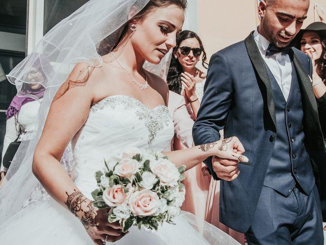 Le mariage de Oualid et Caroline à Oyonnax, Ain 27