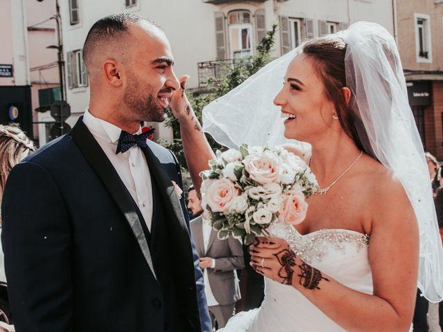 Le mariage de Oualid et Caroline à Oyonnax, Ain 30