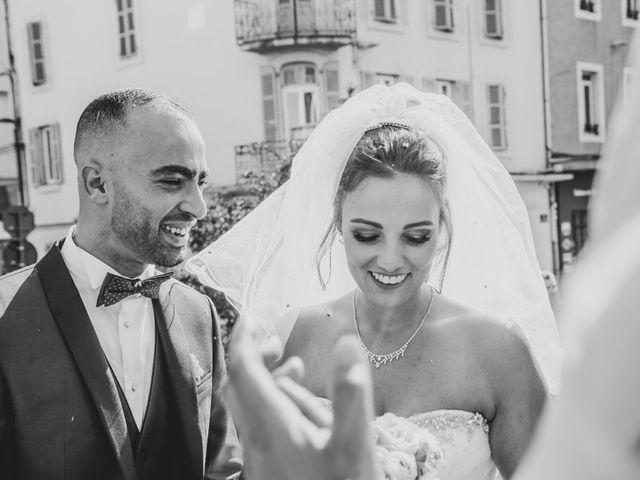 Le mariage de Oualid et Caroline à Oyonnax, Ain 31