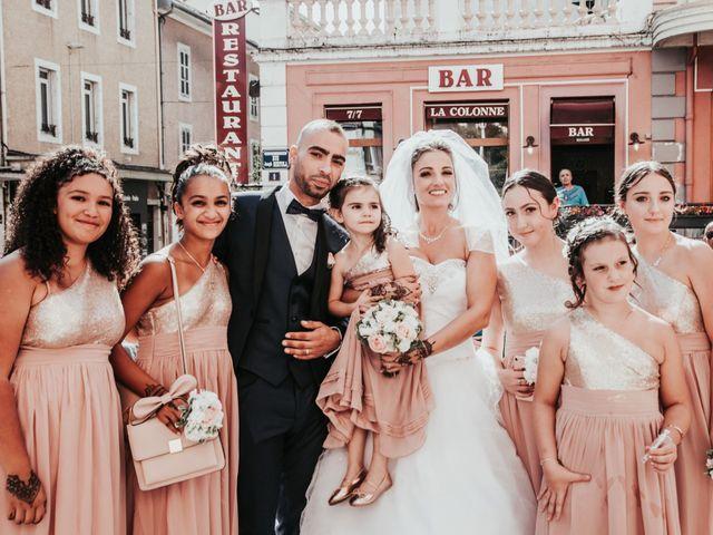 Le mariage de Oualid et Caroline à Oyonnax, Ain 33