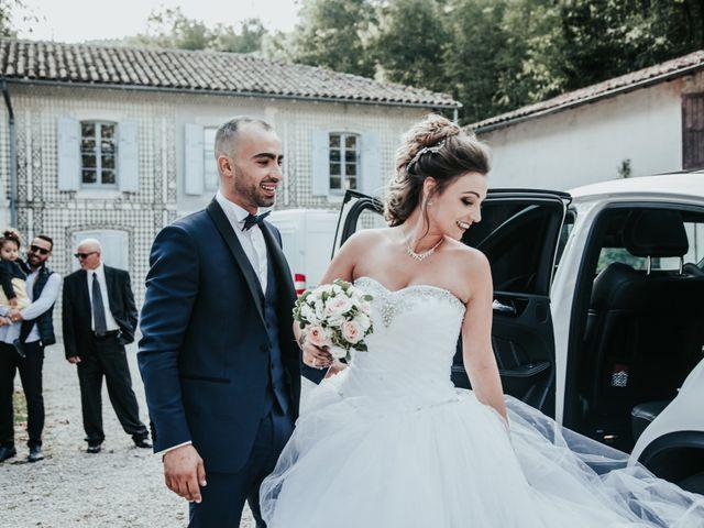 Le mariage de Oualid et Caroline à Oyonnax, Ain 41