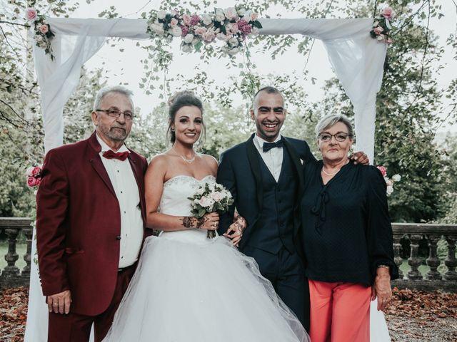 Le mariage de Oualid et Caroline à Oyonnax, Ain 47