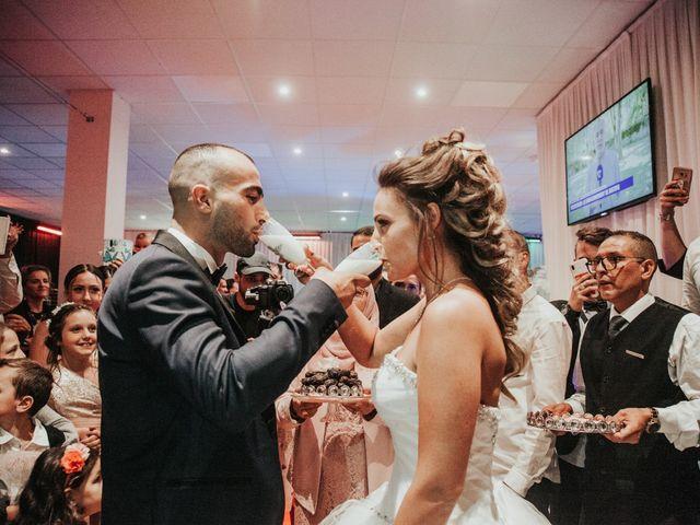 Le mariage de Oualid et Caroline à Oyonnax, Ain 56
