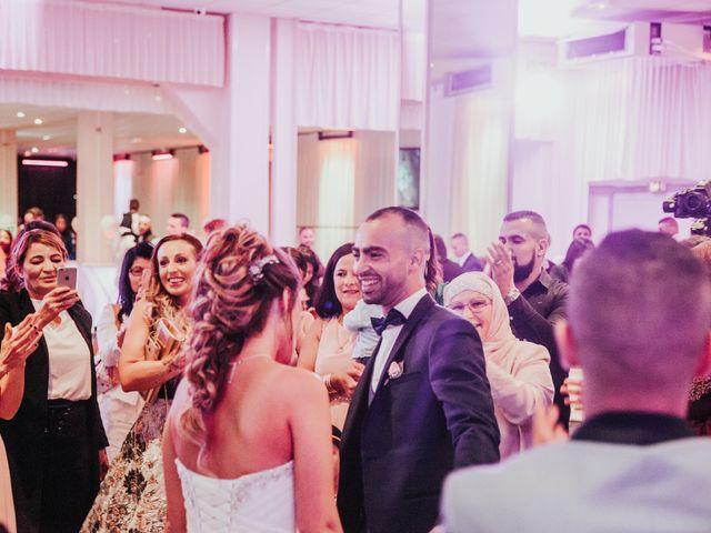 Le mariage de Oualid et Caroline à Oyonnax, Ain 58