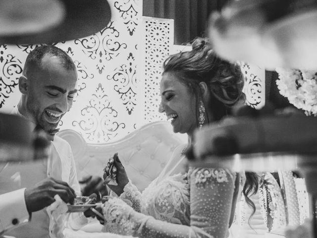 Le mariage de Oualid et Caroline à Oyonnax, Ain 80