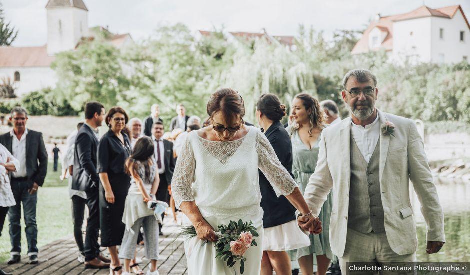 Le mariage de Régis et Christine à Binges, Côte d'Or