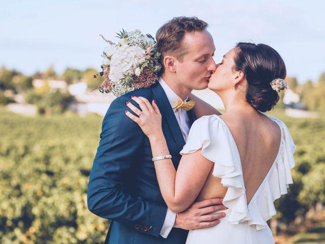Le mariage de Mathias et Caroline à Montagne, Gironde 32