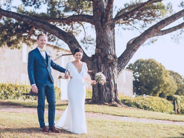 Le mariage de Mathias et Caroline à Montagne, Gironde 33