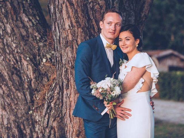 Le mariage de Mathias et Caroline à Montagne, Gironde 39