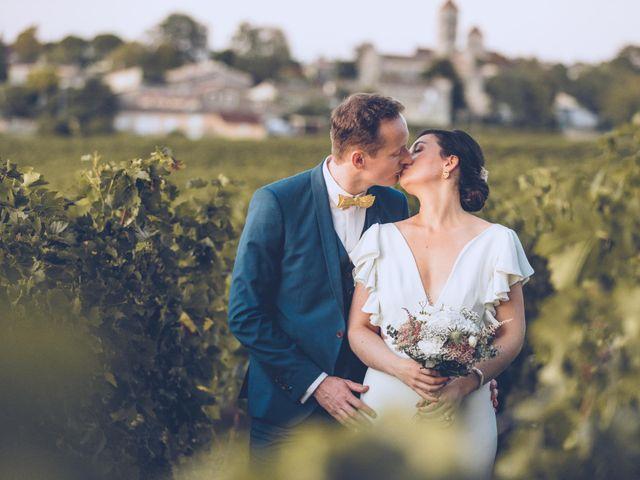 Le mariage de Mathias et Caroline à Montagne, Gironde 2