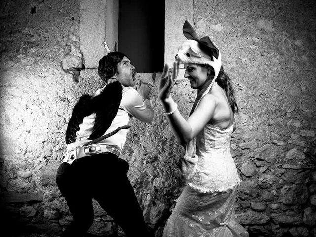 Le mariage de Cyrille et Caroline à Le Pouget, Hérault 34