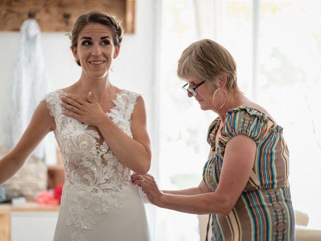 Le mariage de Florent et Pauline à Montréal, Ardèche 15