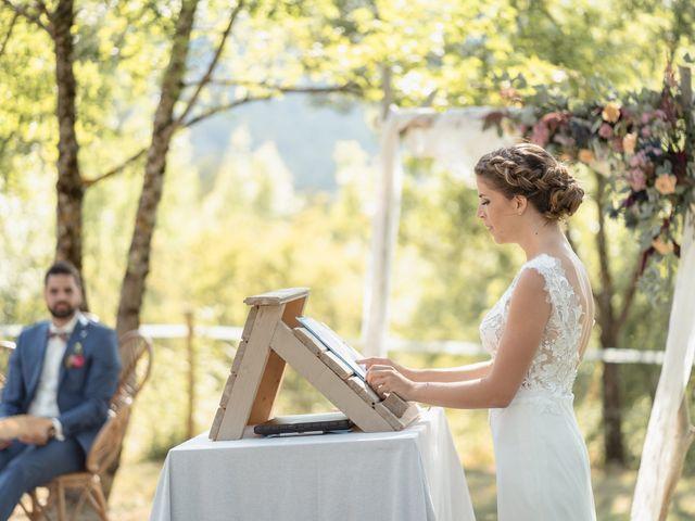 Le mariage de Florent et Pauline à Montréal, Ardèche 24