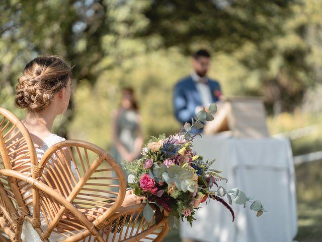 Le mariage de Florent et Pauline à Montréal, Ardèche 26