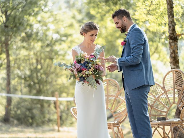 Le mariage de Florent et Pauline à Montréal, Ardèche 29