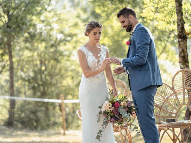 Le mariage de Florent et Pauline à Montréal, Ardèche 30