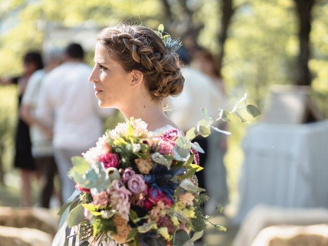 Le mariage de Florent et Pauline à Montréal, Ardèche 31