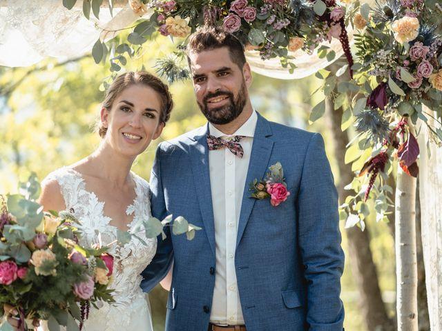 Le mariage de Florent et Pauline à Montréal, Ardèche 32