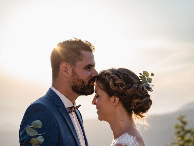 Le mariage de Florent et Pauline à Montréal, Ardèche 37