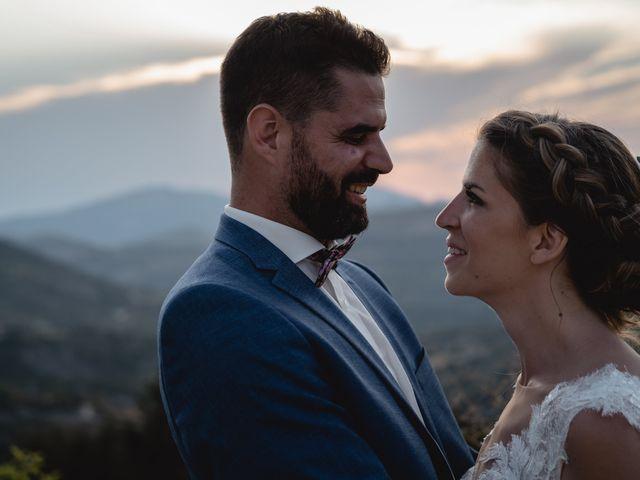 Le mariage de Florent et Pauline à Montréal, Ardèche 41