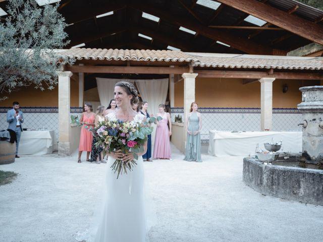 Le mariage de Florent et Pauline à Montréal, Ardèche 43
