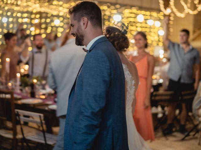 Le mariage de Florent et Pauline à Montréal, Ardèche 48