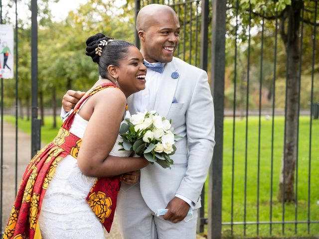 Le mariage de Sylvain et Eliska à Épinay-sur-Seine, Seine-Saint-Denis 27