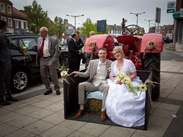 Le mariage de Pierre et Ameline à Ailly-sur-Noye, Somme 15