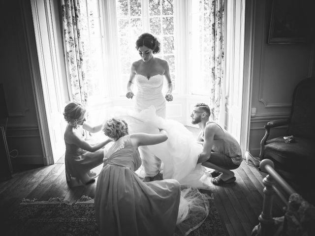 Le mariage de Benjamin et Flora à Saint-Clair, Ardèche 11