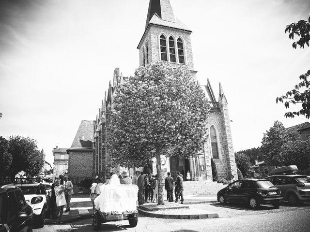 Le mariage de Benjamin et Flora à Saint-Clair, Ardèche 24