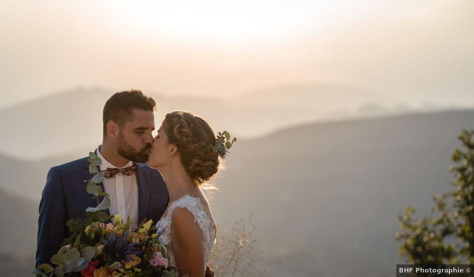 Le mariage de Florent et Pauline à Montréal, Ardèche