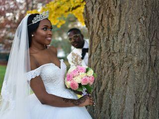 Le mariage de Hadjara et Magloire