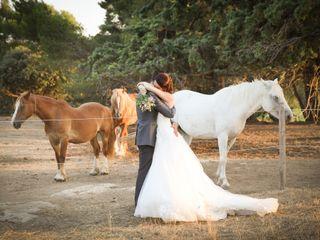 Le mariage de Annaïk et Damien  et Manto