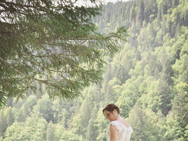 Le mariage de Duncan et Marylise à Habère-Poche, Haute-Savoie 8