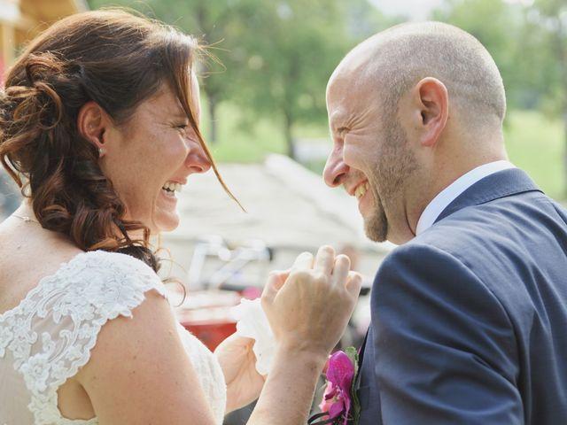 Le mariage de Duncan et Marylise à Habère-Poche, Haute-Savoie 12