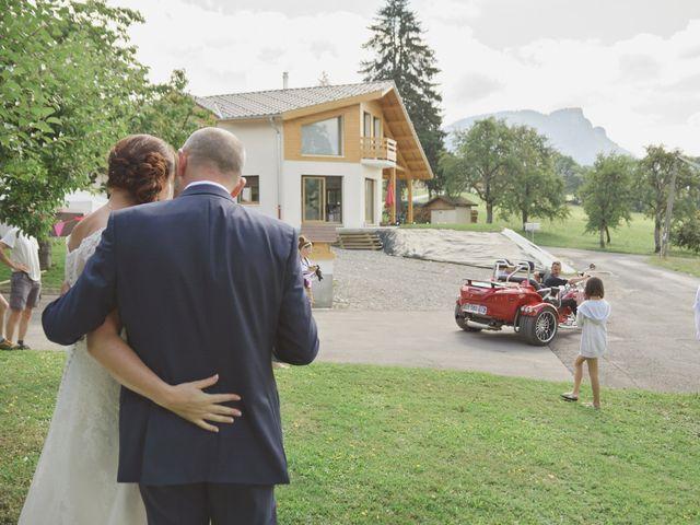Le mariage de Duncan et Marylise à Habère-Poche, Haute-Savoie 13