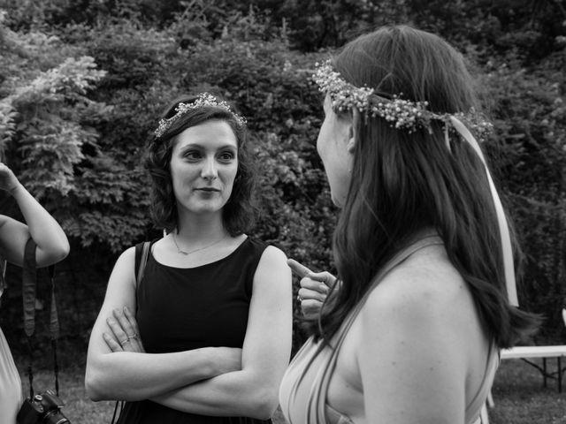 Le mariage de Oliver et Aude à Larroque , Tarn 87