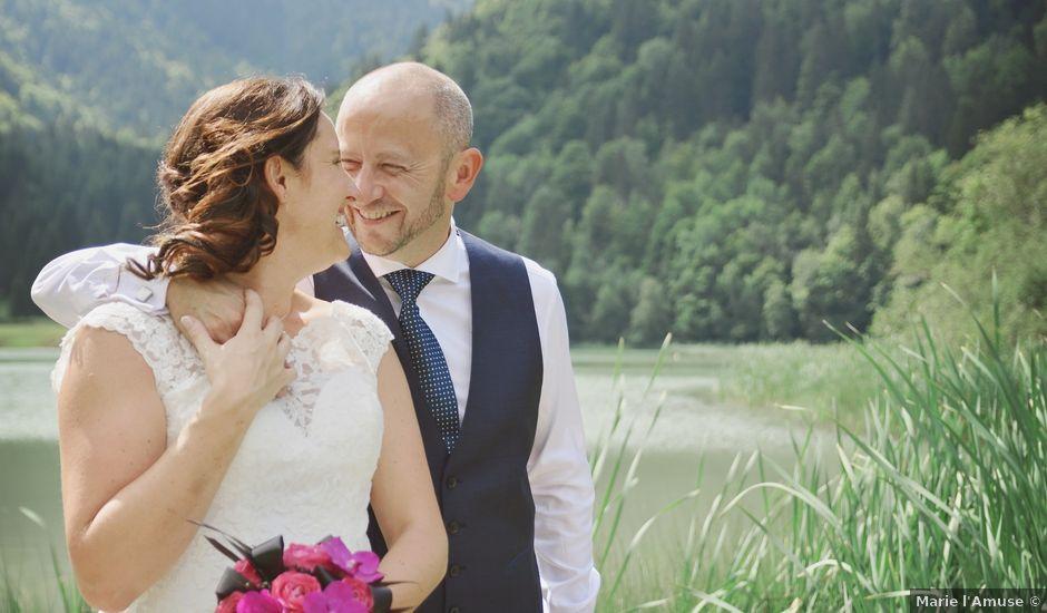 Le mariage de Duncan et Marylise à Habère-Poche, Haute-Savoie