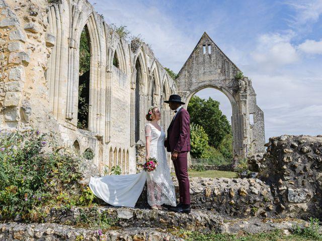 Le mariage de Léo et Elodie à Beaumont-le-Roger, Eure 12