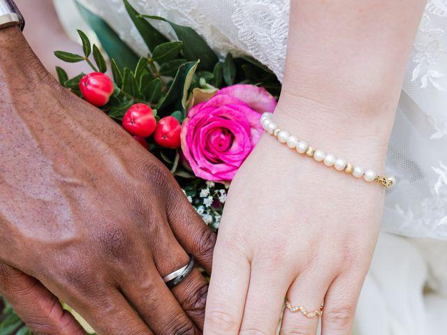 Le mariage de Léo et Elodie à Beaumont-le-Roger, Eure 18