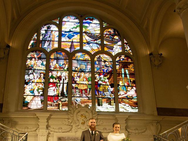 Le mariage de Justin et Ludwine à Dunkerque, Nord 1