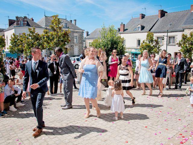 Le mariage de Flavian et Samantha à Guéméné-Penfao, Loire Atlantique 18