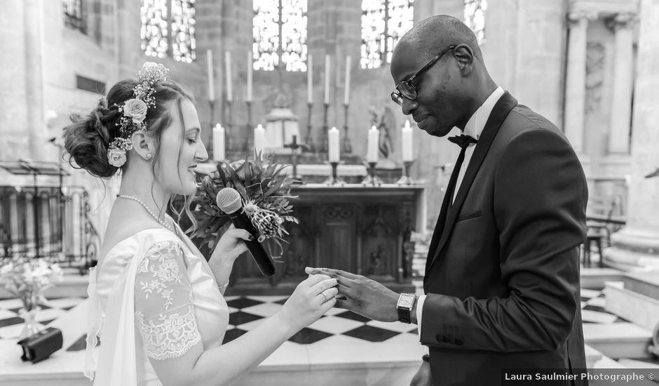 Le mariage de Léo et Elodie à Beaumont-le-Roger, Eure