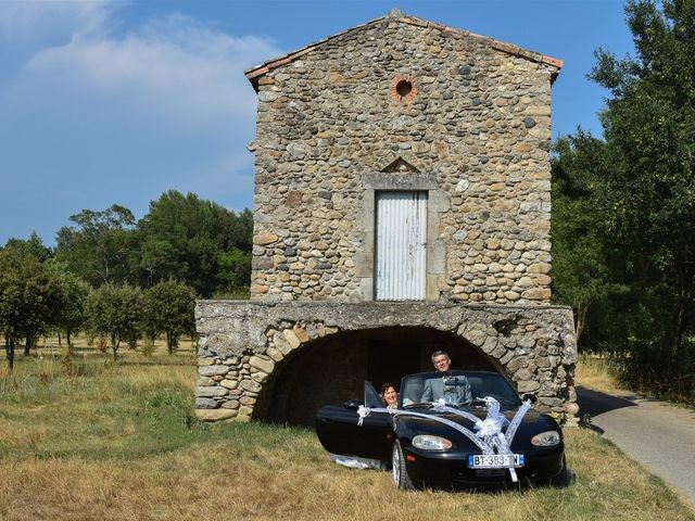 Le mariage de Hervé et Lise à Saint-Sernin, Ardèche 13