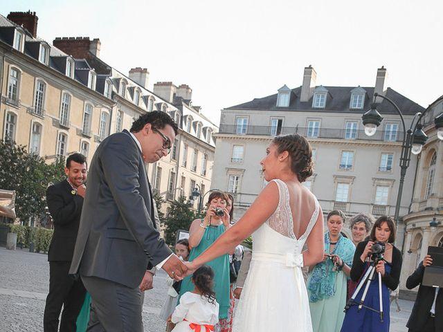 Le mariage de Anthony et Morgane à Laillé, Ille et Vilaine 25